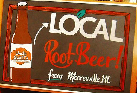 Uncle Scott's All Natural Root Beer micro-brewed in Mooresville, NC